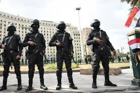 egyptian police raid